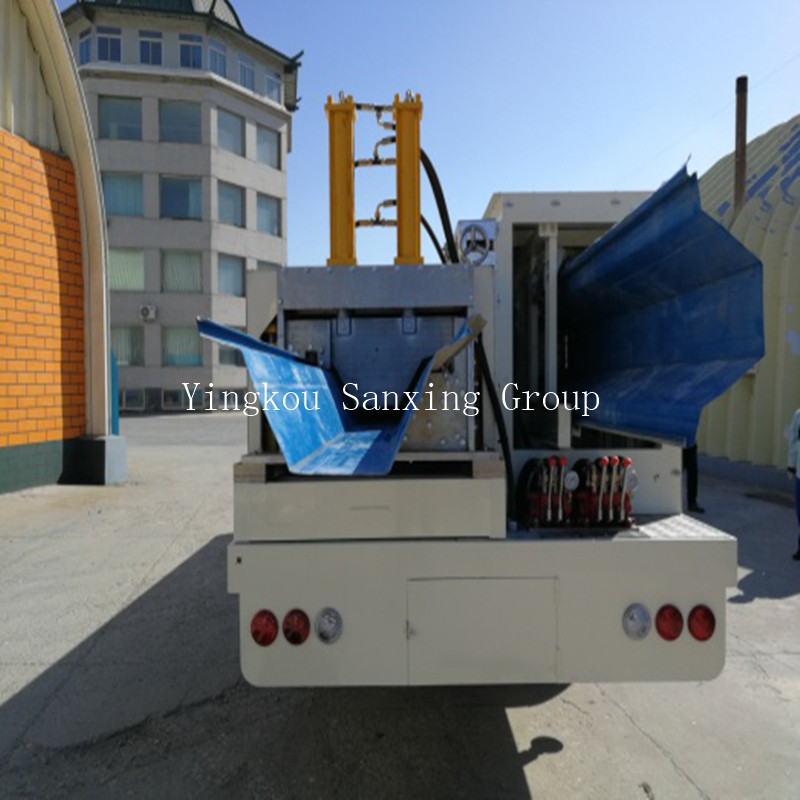ACM No Girder Arch Roof Forming Machine