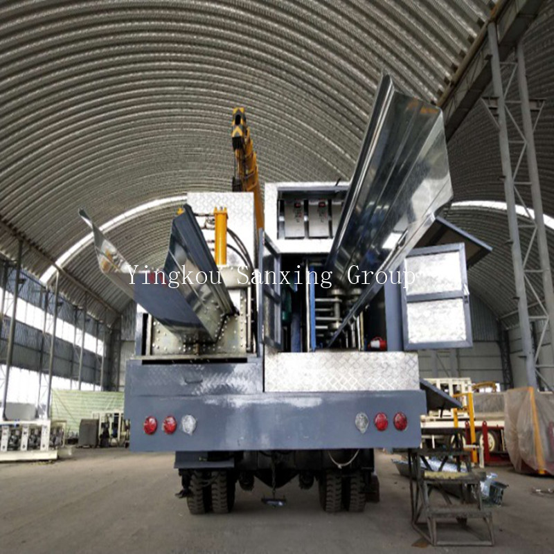 ACM No-Girder Arch Roof Forming Machine SX-ACM-1000-630