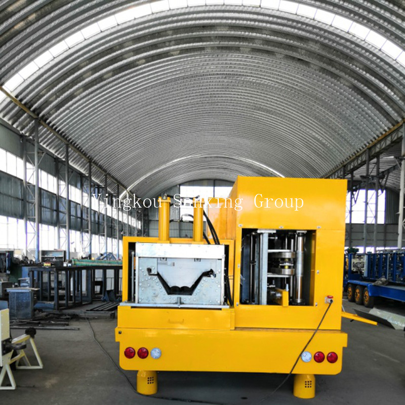 ACM No-Girder Arch Roof Forming Machine SX-ACM-1250-500