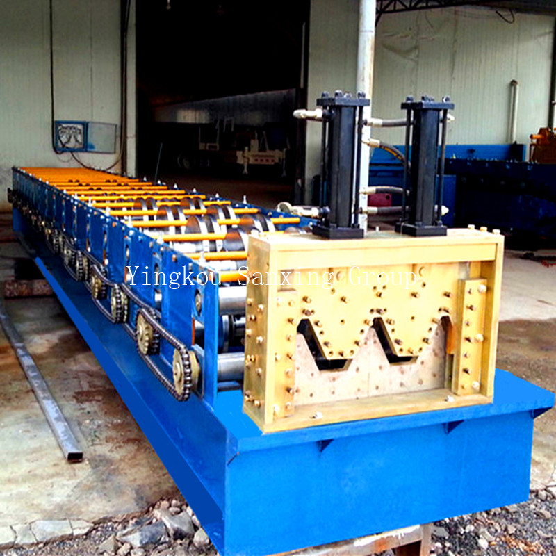 Double-groove No-girder Screw-Joint Multiple Shape Building Machine