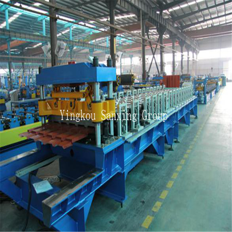 Glazed Tile Corrugated Roll Forming Machine